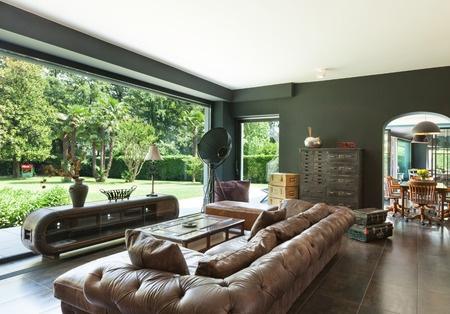 38152475 - beautiful living room, classic furniture, interior